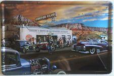 CANYON CLUB VINTAGE  Garage Retro Vintage Metal Tin Sign Rustic Look . MAN CAVE