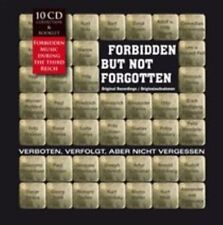 FORBIDDEN, NOT FORGOTTEN:  Forbidden Music during the third Reich -10 CD box set