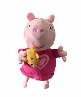 Peppa Pig Sleep Oink Talking Bedtime Plush Toy 2003 20cm