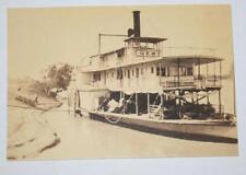 Postcard- P.S. Gem Loading Wool Bales Australian Yesteryear Cards - History