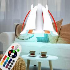 LED Lámpara Colgante Salón Reflector Regulable Flor Lámina RGB Fernbedienuing