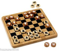 Bamboo Classics Eco-Friendly Chess / Checkers Set Family Board Game