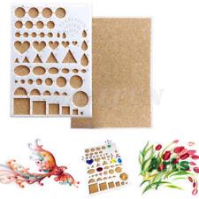 Paper Quilling Template Mould Board Handcrafts Diy Art Utensil Scrapbooking Mold