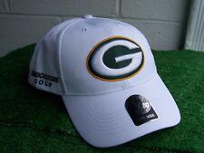 Bridgestone Golf Green Bay Packers White Golf Hat Cap NFL Team Adjustable NEW