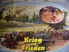 AUDREY HEPBURN + KRIEG UND FREIDEN + HENRY FONDA + ANITA EKBERG + A0 +