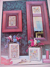 Cross Stitch Chart The Drawn Thread Too Tiny Samplers Designed for 28 Ct Linen