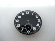 Vintage Unitas 6498 Zifferblatt, Ø 42 mm, watch dial, Taschenuhr, Tritium, Swiss