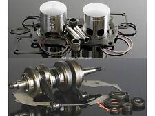 """Wiseco Engine Rebuild Kit Yamaha Banshee YFZ 350 65.50mm Bore .060"""" Crank/Piston"""