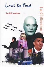 Louis de Funes. Collection 3 Louis De Funes. Franch. Optional English
