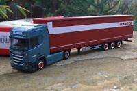"Herpa Scania CR 20 HD Lowliner-Sattelzug ""Planzer"" (CH)   308151"