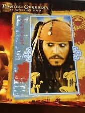 NEW Disney Pirates of the Caribbean Puzzle  Johnny Depp 63 Pieces Ages 5+ Sealed