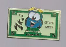 1996 Atlanta Olympic Izzy 100 Dollar Bill Pin