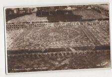 A Tessellated Pavement Byland Abbey Vintage RP Postcard 029a
