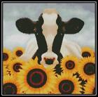 Cow & Sunflowers - Cross Stitch Chart/Pattern/Design/XStitch