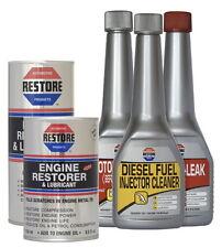 MOT EMISSIONS FAIL? Ametech RESTORE Oil Additive kit for 2.5-3L DIESEL engines