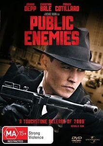 Public Enemies (DVD, 2009)**R4**Johnny Depp*Terrific Condition