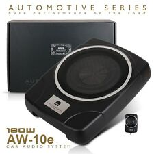 New MBQ AW-10E Car UnderSeat Slim Active Subwoofer 360 W