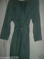 Ladies 10 Reg  London Fog Long Coat Double Breasted