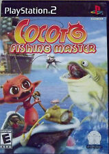 SLIGHTLY USED PLAYSTATION 2 COCOTO FISHING MASTER GAME