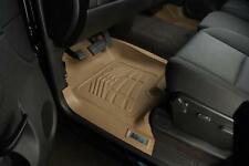Toyota Tundra 2007 - 2011, Sequoia 08 - 11 Sure-Fit Floor Mats Liners Front  Tan