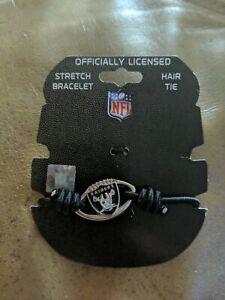 Las Vegas Raiders Stretch Bracelet NFL Football