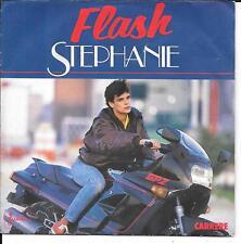 "45 TOURS / 7"" SINGLE--STEPHANIE--FLASH / LE SEGA MAURICIEN--1986"