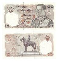 THAILAND 10 BAHT 1980 SIGN 53 UNC P 87