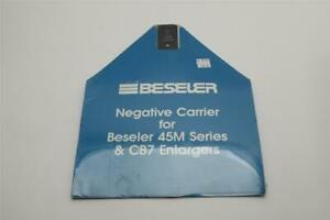 New Beseler Negative Carrier for 45M Series & CB7 Enlargers #8305 2x2 #M1180