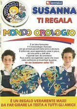 X2796 SUSANNA ti regala Mondo Orologio - Invernizzi - Pubblicità 1992 - Advert.
