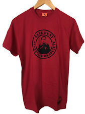 BRAND NEW Life On Mars Mens Size S Red Gene Hunt Appreciation T-Shirt Official