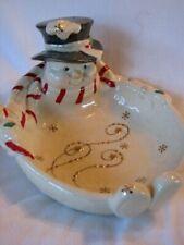 Lenox Christmas Snowman Candy Dish