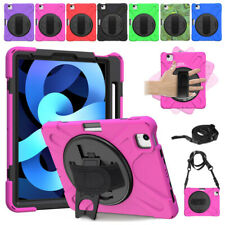 For iPad Air 4th Generation 10.9 2020 Shockproof Rotating Stand Hybrid Case Case