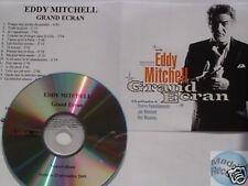Eddy Mitchell Grand Ecran CD ALBUM PROMO pochette papier