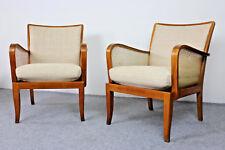 1/2 fauteuil Knoll Antimott * ART DECO easy chair 20 S 30 S * Vintage Fauteuil