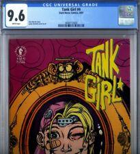 PRIMO:  TANK GIRL #4 NM+ 9.6 CGC 1st prnt HEWLITT Martin DARK HORSE comics movie