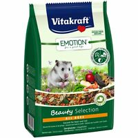 Vitakraft Emotion Beauty All Ages, Zwerghamster - 300g - Futter Spezialfutter