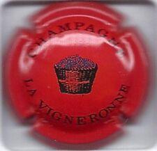capsule de champagne la vigneronne N°3 TRES RARE COTE 15€