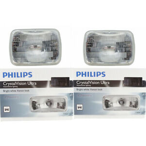 2 pc Philips H6054CVC1 CrystalVision Headlight Bulbs for 97692 Electrical jl