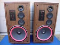 "Super Nice Cerwin-Vega AT-15 Large 3-way Floor Speaker - 15"" Woofers - Restored!"