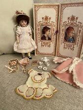 "Antique All Bisque 6"" Bruno Schmidt German Doll With Wardrobe And Accessories"