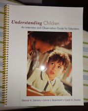 Understanding Children : An Interview and Observation Guide for Educators by Car