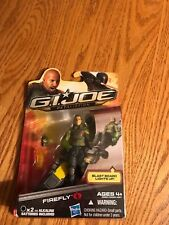 2012 NIB GI JOE RETALIATION MOVIE FIGURE FIREFLY WITH LIGHT UP BLAST BOARD COBRA