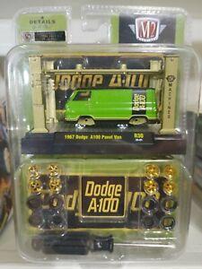 M2 Dodge 1967 Ford Van CHASE Model Kit M2 Machines 1:64 Die-cast 1/750!!