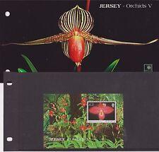 JERSEY PRESENTATION PACK 2004 ORCHIDS V STAMP MINIATURE SHEET NOT OVERPRINTED