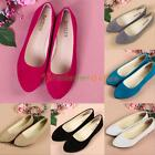 Women Ladies Boat Shoes Casual Flat Ballet Slip On Flats Loafers Single Shoes