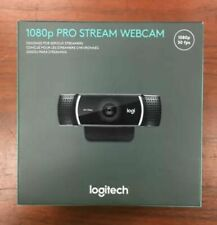 NEW Logitech 1080p Pro Stream Webcam for HD Streaming - Sealed Mic Built In