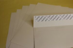 10 x A4 CONQUEROR CREAM LAID WATERMARKED PAPER with ENVELOPES - FREE UK P + P