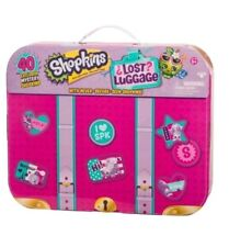 SHOPKINS GIFT SET  40 MYSTERY SHOPKINS / NEWLY RELEASED ITEMS /Lost Luggage Set