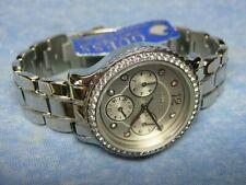 NEW - Women's GUESS Water Resistant Multi-Function Gemmed Watch w/ New Battery