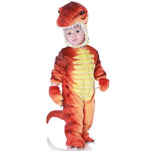 T-Rex Costume Baby Toddler Kids Dinosaur Halloween Fancy Dress 6-12 M
